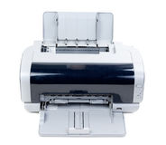Impresora de inyección de tinta vieja Fotografía de archivo libre de regalías