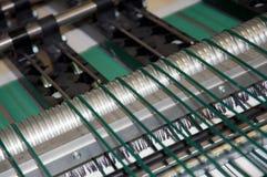 Impresora de la prensa de Digitaces (detalle) Fotografía de archivo libre de regalías