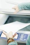 Impresora del fax Fotos de archivo libres de regalías