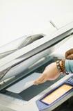 Impresora del fax fotografía de archivo libre de regalías
