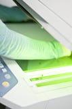 Impresora del fax foto de archivo libre de regalías