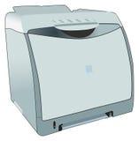 Impresora laser de LaserJet para la oficina libre illustration