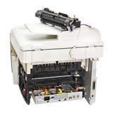 Impresora laser quebrada Imagen de archivo libre de regalías