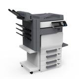 Impresora multifuncional de la oficina ilustración del vector