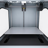 Impresora para fabricar los modelos sólidos 3d Fotos de archivo