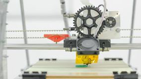 Impresora tridimensional Imágenes de archivo libres de regalías