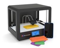 impressão 3D Imagem de Stock