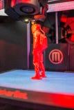 impressão 3D na ação Fotos de Stock Royalty Free