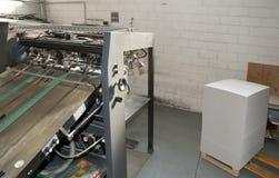 Impressão da imprensa - máquina deslocada imagem de stock