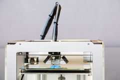 impressão da impressora 3d Imagens de Stock