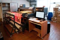 Impressão de matéria têxtil de Digitas Fotografia de Stock Royalty Free