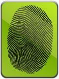 Impressão digital Imagem de Stock Royalty Free