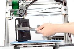 Impressão tridimensional no processo Foto de Stock