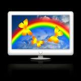 Impressões coloridas Fotografia de Stock
