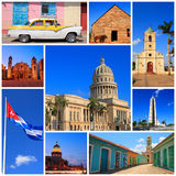 Impressões de Cuba Fotos de Stock Royalty Free