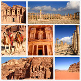 Impressões de Jordânia Imagem de Stock Royalty Free