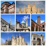 Impressões de Milão fotos de stock royalty free