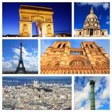 Impressões de Paris Imagem de Stock