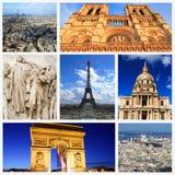 Impressões de Paris fotos de stock