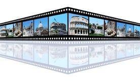 Impressões de Roma imagem de stock royalty free