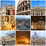 Impressões de Roma imagens de stock royalty free