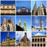 Impressões de Viena Foto de Stock