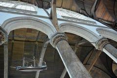 Impressões do Oude Kerk Igreja velha em Amsterdão, Países Baixos Foto de Stock