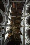 Impressões do Oude Kerk Igreja velha em Amsterdão, Países Baixos Fotografia de Stock