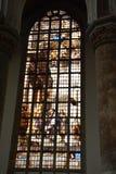 Impressões do Oude Kerk, igreja velha em Amsterdão, Países Baixos Imagens de Stock