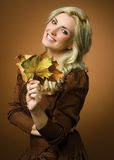 Impressões do outono Fotografia de Stock