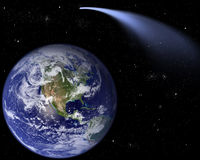 Comète ISON illustration stock
