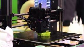 impression de l'imprimante 3d banque de vidéos
