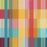 Impression de papier peint de couleur Image libre de droits