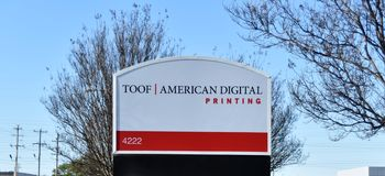 Impression de Toof American Digital, Memphis, TN images stock