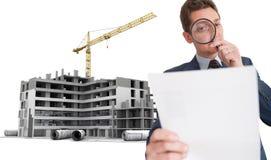 Impression fine d'hypothèque Photo stock