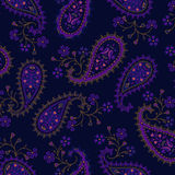 Impression fleurie de Paisley illustration libre de droits