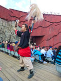 Impression of Lijiang cultural performance Royalty Free Stock Photo