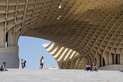 Impression of Metropol Parasol Stock Photo