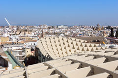 Impression of Metropol Parasol Stock Photos