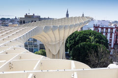 Impression of Metropol Parasol Royalty Free Stock Images