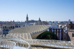 Impression of Metropol Parasol Royalty Free Stock Photos