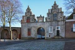 Impression of Noordhavenpoort in the historic city Zierikzee Royalty Free Stock Photography