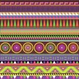 Impression ornementale de couleur Image stock