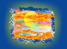 Impression of the sun, Stock Photography