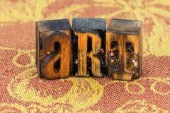 Impression typographique d'artiste d'illustration d'art photos stock