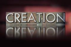 Impression typographique de création Photographie stock libre de droits