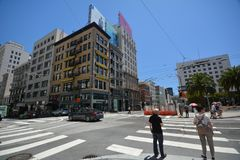 Impressioni da San Francisco, California U.S.A. Immagini Stock Libere da Diritti