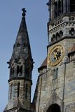 Impressioni dal Kaiser Wilhelm Memorial Church, Gedaechtniskirche a Berlino, Germania Fotografia Stock