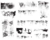 Impressioni del cartone di lerciume Fotografia Stock Libera da Diritti