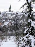 Impressioni di inverno dalla Germania del sud Fotografie Stock